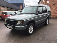 USED 2004 04 LAND ROVER DISCOVERY 2.5 PURSUIT S TD5 5d 136 BHP Discovery Td5 just had half chassis replaced