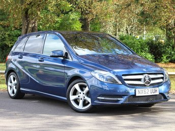 2012 MERCEDES-BENZ B CLASS 1.6 B200 BLUEEFFICIENCY SPORT 5d 156 BHP £10995.00