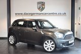 USED 2012 12 MINI COUNTRYMAN 1.6 COOPER D 5DR 112 BHP chilli pack + FULL SERVICE HISTORY + AIR CONDITIONING + HEATED MIRRORS + PARKING SENSORS + DAB RADIO + 17 INCH ALLOY WHEELS +