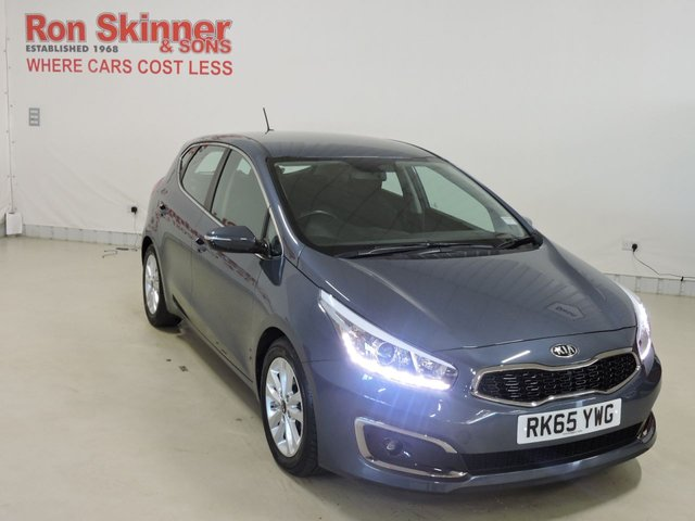 View our 2015 65 KIA CEED 1.6 CRDI 2 ISG 5d 134 BHP