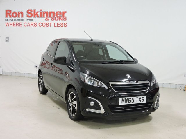 View our 2015 65 PEUGEOT 108 1.2 PURETECH ALLURE 5d 82 BHP