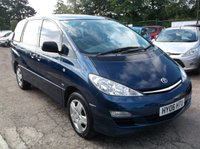 USED 2006 06 TOYOTA PREVIA 2.0 T2 7-SEATS D-4D 5d 114 BHP AFFORDABLE 7 SEATER FAMILY CAR IN EXCELLENT CONDITION, DRIVES SUPERBLY !!