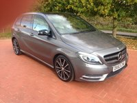 2013 MERCEDES-BENZ B CLASS 1.8 B200 CDI BLUEEFFICIENCY SPORT 5d AUTO 136 BHP £10990.00