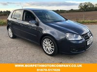 USED 2008 08 VOLKSWAGEN GOLF 2.0 GT TDI 5d 138 BHP ***TIMING BELT REPLACED***