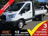 USED 2016 66 FORD TRANSIT TIPPER 350 L2 RWD DRW 1-Stop 125ps (ULEZ Compliant) DRW 1 Stop body