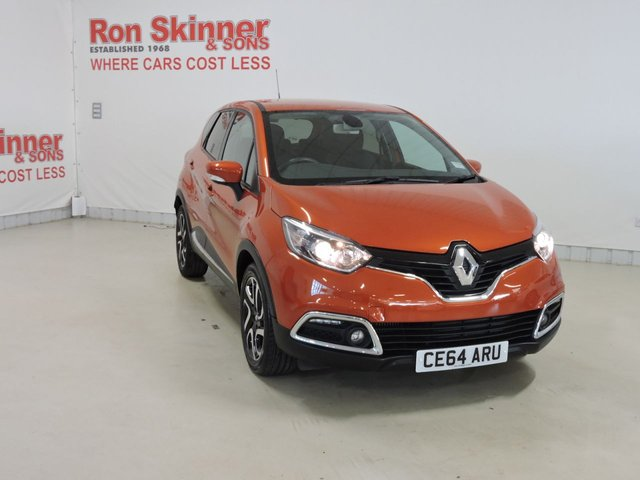 View our 2014 64 RENAULT CAPTUR 1.5 DYNAMIQUE S MEDIANAV ENERGY DCI S/S 5d 90 BHP