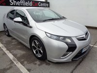 USED 2015 64 VAUXHALL AMPERA 1.4 ELECTRON 5d AUTO 150 BHP AUTOMATIC HYBRID ELECTRIC PETROL LEATHER TRIM  NAVIGATION SYSTEM PARKING SENSORS REVERSE CAMRA 4 MAIN DEALER SERVICES
