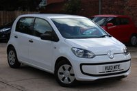 USED 2013 13 VOLKSWAGEN UP 1.0 TAKE UP 5d 59 BHP **** FULL MAIN DEALER SERVICE HISTORY * £20 A YEAR ROAD TAX ****