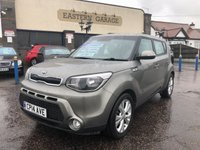 USED 2014 14 KIA SOUL 1.6 CRDI CONNECT PLUS 5d AUTO 126 BHP