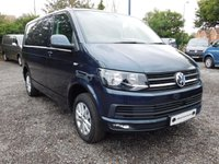 USED 2018 18 VOLKSWAGEN TRANSPORTER T28 TDI HIGHLINE SWB 150 BLUEMOTION EURO 6 Glazed Tailgate, Heated rear Window and Wash Wipe, Sat Nav (Discovery Media Unit), Electric Folding Mirrors, Glazed Bulkhead.