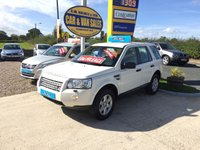 2010 LAND ROVER FREELANDER GS 2.2 TD4 IN WHITE **ONE OWNER**FSH**ONLY 66000** £SOLD