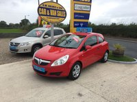 2009 VAUXHALL CORSA ACTIVE 1.0 3 DOOR **ONE LADY OWNER**FVSH**43000 MILES** £SOLD