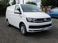 USED 2018 18 VOLKSWAGEN TRANSPORTER T28 TDI HIGHLINE SWB 150 BLUEMOTION EURO 6 Sat Nav (Discovery Media Unit) and Electric Folding Mirrors Glazed Tailgate with Heated Rear Window and Wash Wipe.
