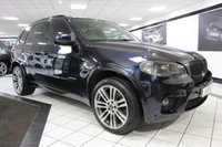 USED 2010 10 BMW X5 3.0 40D M SPORT XDRIVE AUTO 302 BHP 20'S FULL HTD LEATHER NAV DAB