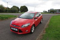 2012 FORD FOCUS 1.6 ZETEC Alloys,Air Con,Full Ford History £5495.00