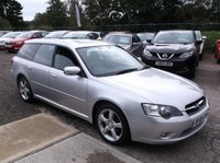 USED 2006 06 SUBARU LEGACY 2.0 RE SPORTS TOURER AWD 5d 165 BHP 4WD FAMILY ESTATE CAR, GREAT SPEC, DRIVES SUPERBLY !!