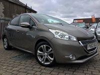 2012 PEUGEOT 208 1.4 ALLURE HDI 5d 68 BHP £6499.00