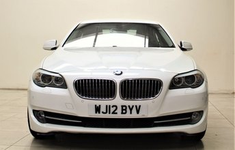 2012 BMW 5 SERIES 2.0 520D EFFICIENTDYNAMICS 4d 181 BHP £10499.00