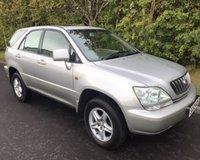2002 LEXUS RX 3.0 300 SE 5d AUTO 199 BHP £2995.00