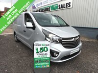 USED 2015 65 VAUXHALL VIVARO 1.6 2900 L1H1 CDTI P/V SPORTIVE 114 BHP 1 OWNER FULL SERVICE HISTORY 1 OWNER FROM NEW AIR CON FSH