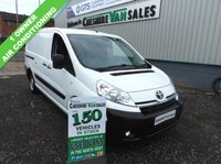 USED 2015 65 TOYOTA PROACE 2.0 L2H1 HDI 1200 127 BHP 1 OWNER AIR CONDITIONING 2015 65 reg TOYOTA PROACE 2.0L, LONG WHEEL BASE, 1 OWNER FOM NEW