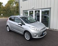 USED 2012 62 FORD FIESTA 1.4 TITANIUM THIS VEHICLE IS AT SITE 1 - TO VIEW CALL US ON 01903 892224