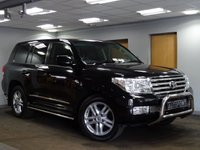 USED 2011 61 TOYOTA LAND CRUISER V8 4.5 D-4D V8 60TH ANNIVERSARY 5d AUTO 282 BHP