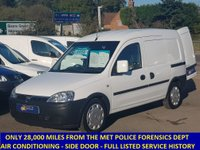 2009 VAUXHALL COMBO 2000 1.3 CDTI ONLY 28,000 MILES AND AIR CON FROM THE MET POLICE £4495.00