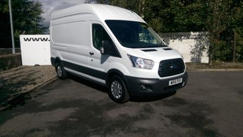 2016 FORD TRANSIT 350 2.2 155 BHP TREND H/R L3 H3 **70 VANS IN STOCK** £12550.00