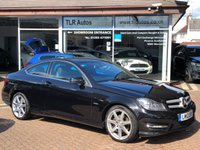 USED 2012 12 MERCEDES-BENZ C CLASS 2.1 C220 CDI BLUEEFFICIENCY AMG SPORT 2d 170 BHP Free MOT for Life