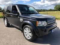 2012 LAND ROVER DISCOVERY 3.0 4 SDV6 XS 5d AUTO 255 BHP £15995.00
