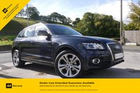 USED 2012 12 AUDI Q5 2.0 TDI QUATTRO S LINE SPECIAL EDITION 5d 141 BHP 1 OWNER-NAV-LEATHER-B&O SOUND