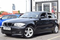 USED 2006 06 BMW 1 SERIES 1.6 116I ES 5d 114 BHP SUPERB EXAMPLE WITH FULL AND COMPLETE MAIN DEALER SERVICE HISTORY INC 12 SERVICE STAMPS, 2 KEYS