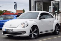 USED 2013 63 VOLKSWAGEN BEETLE 2.0 SPORT TDI 3d 139 BHP SUPERB EXAMPLE WITH FULL AND COMPLETE SERVICE HISTORY INC 7 STAMPS AND RECENT CAMBELT AND WATER PUMP