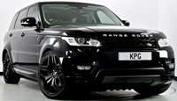 """USED 2016 66 LAND ROVER RANGE ROVER SPORT 3.0 SD V6 HSE Dynamic CommandShift 2 4X4 (s/s) 5dr Pan Roof, Stealth Pack, 22""""s"""