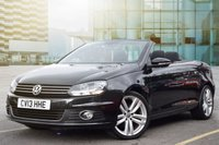 USED 2013 13 VOLKSWAGEN EOS 2.0 SPORT TDI BLUEMOTION TECHNOLOGY 2d 139 BHP SUPERB EXAMPLE WITH FULL MAIN DEALER HISTORY INCLUDING 7 STAMPS, 2 KEYS