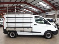 "USED 2014 14 FORD TRANSIT CUSTOM 2.2 270 LR P/V  GLASS FRAIL / GLASS CARRIER-ONE OWNER ""YOU'RE IN SAFE HANDS"" - AA DEALER PROMISE"