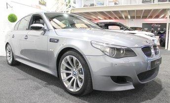 2006 BMW 5 SERIES 5.0 M5 4d AUTO 501 BHP £16955.00