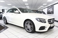USED 2016 16 MERCEDES-BENZ E CLASS 2.0 E 220 D AMG LINE PREMIUM AUTO 192 BHP DIAMOND WHITE! PAN ROOF FMBSH