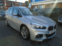 USED 2017 67 BMW 2 SERIES 2.0 218D M SPORT GRAN TOURER 5d 148 BHP