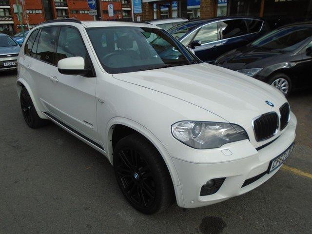 2012 62 BMW X5 3.0 XDRIVE30D M SPORT 5d AUTO 241 BHP