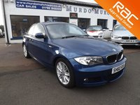 2010 BMW 1 SERIES 2.0 120D M SPORT 2d AUTO 175 BHP £8800.00