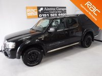 USED 2008 58 FORD RANGER 2.5 THUNDER 4X4 D/C 1d 141 BHP AMAZING 4X4 WITH ONE OWNER WITH FULL HISTORY, FINISHED IN GLEAMING METALIC BLACK FULL LEATHER INTERIOR HEATED SEAT, ELEC WINDOWS ALL ROUND, DAB 6 CD RADIO, CROME SIDE STEPS, LIGHT GUARDS, REAR TRUCKMAN BACK, PLASTIC LOAD COVER, EXPENSIVE UPGRADED WHEELS AND TYRES, MUDFLAPS, AIR CON, UPGRADED REAR BUMPER WHAT A GREAT LOOKING JEEP