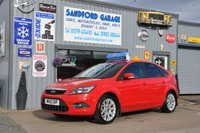 USED 2010 10 FORD FOCUS 1.6 ZETEC 5d 100 BHP Very clean car for age. Excellent service history 75k miles