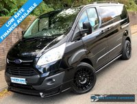 USED 2015 15 FORD TRANSIT CUSTOM LIMITED L1H1 270 SWB LOW ROOF 2.2 125BHP Sport Pack Exterior, 1 Owner, Full Service History