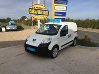 2013 PEUGEOT BIPPER PROFESSIONAL 1.3 HDI **ONE COMPANY OWNER**ONLY 50K** £3750.00