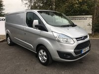 USED 2015 65 FORD TRANSIT CUSTOM 290 2.2 LIMITED L1 H1 125 BHP **70 VANS IN STOCK**