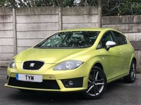 USED 2010 10 SEAT LEON 2.0 FR CR TDI 5d 168 BHP TIMING BELT REPLACED/DIESEL/