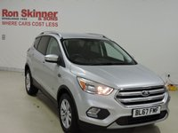 USED 2017 67 FORD KUGA 2.0 ZETEC TDCI 5d 148 BHP with Appearance Pack + SYNC3 Nav