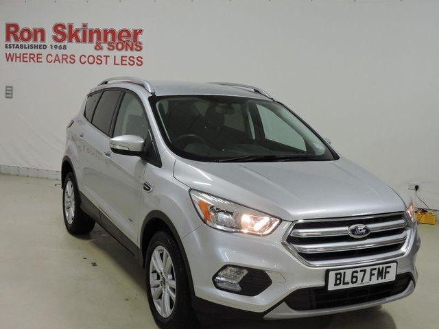View our 2017 67 FORD KUGA 2.0 ZETEC TDCI 5d 148 BHP with Appearance Pack + SYNC3 Nav